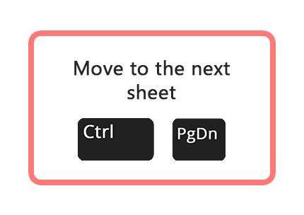 How to Move To The Next Sheet in Excel | ExcelInExcel