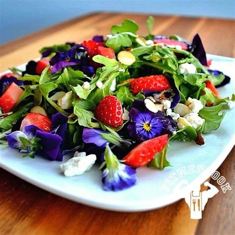 Special Edition Valentine's Day Salad Recipe - Fit Men Cook