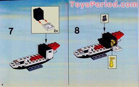 LEGO 7238 Fire Helicopter Set Parts Inventory and