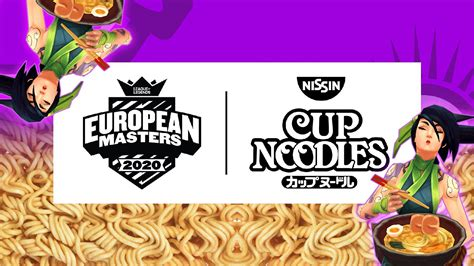League of Legends: EU Masters partners with Nissin as Main