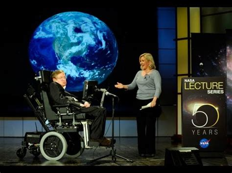 Stephen Hawking: Science & Technology Lecture, Interview