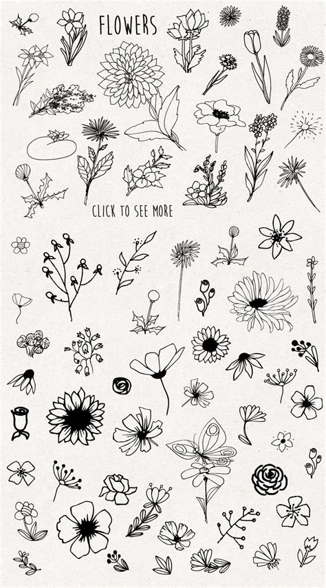 Only flowers ! #Ad , #AFFILIATE, #sketched#find#paper#