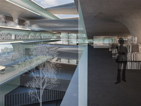 Central and Reading Library Berlin — KING ROSELLI ARCHITETTI