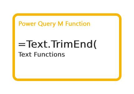 How to use Power Query M Text