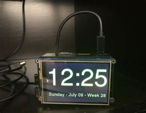 Build a clock for your entertainment center with a