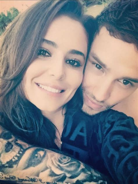 Aww! Liam Payne's tribute to Cheryl Cole on first