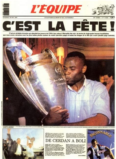 OM Milan 1 - 0 Coupe d'Europe des Clubs Champions 1993 But