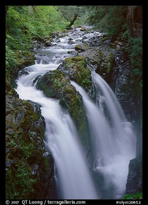 Picture/Photo: Sol Duc river and falls