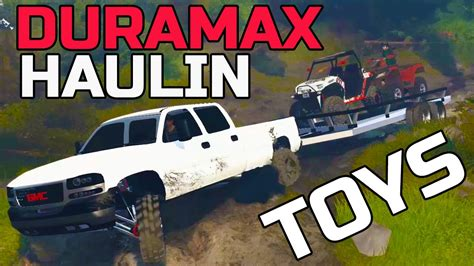SPIN TIRES   NEW DURAMAX MOD HAULING TOYS   + GIVEAWAY