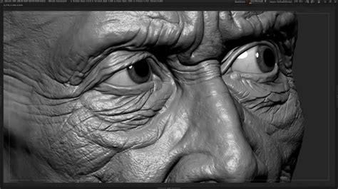 Cambodian Old Man Head - ZBrush Detailed Head | Andor