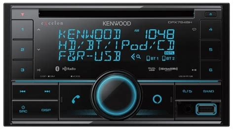 The KENWOOD DPX794BH is enhanced for 2020 with a New