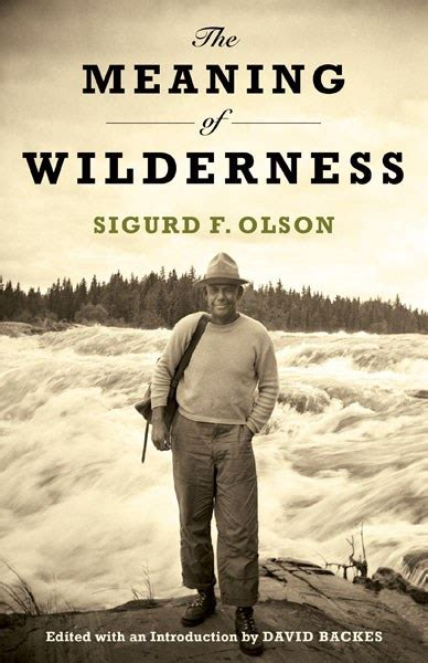 The Meaning of Wilderness — University of Minnesota Press
