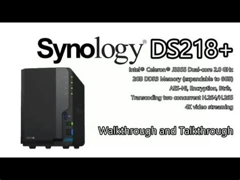 NEW Synology NAS - The DS218+ Diskstation NAS for 2017/18